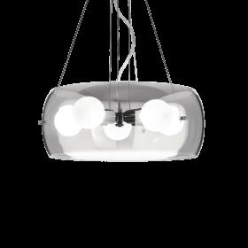 Lampa Suspendata AUDI-10 CROMO E27 max 5 x 60W