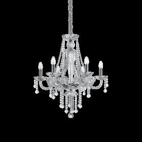 Lampa Suspendata AMADEUS CROMO E14 max 6 x 40W