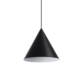 Lampa Suspendata A-LINE NERO E27 max 1 x 60W
