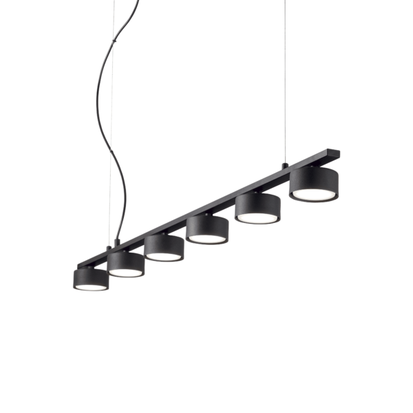 Lampa Suspendata MINOR NERO GX53 max 6 x 15W