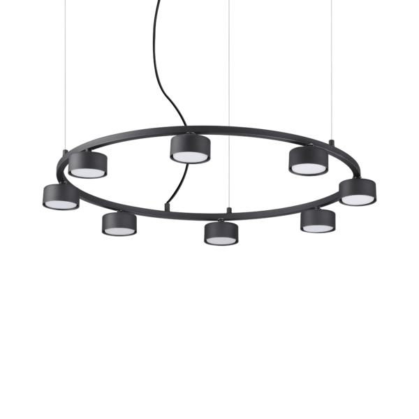 Lampa Suspendata MINOR NERO GX53 max 8 x 15W
