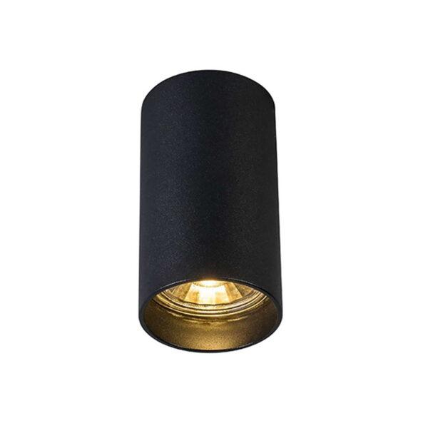 Aplica Tuba neagra din aluminiu 1