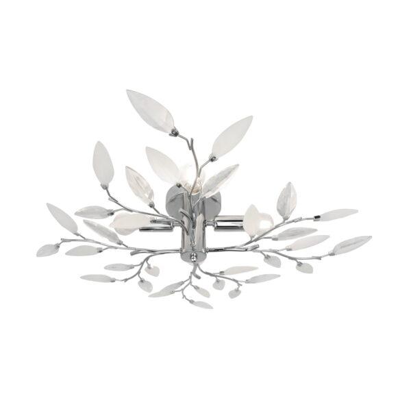 Plafoniera Lia crom din metal si acril 1