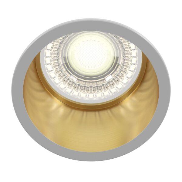 Spot alb/auriu Reif DL049-01WG 1