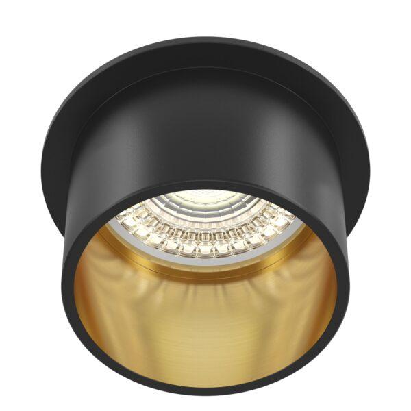 Spot negru/auriu Reif DL050-01GB 1